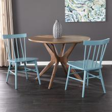 Wendlebury Blue Dining Chair Set - 2pc