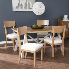 Hambleden Farmhouse Dining Set - 5pc w/ chairs