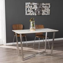 Wrexham Faux Marble Console/Dining Table