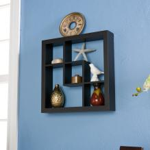 Madison Display Shelf 16 - Black