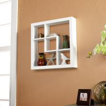 Madison Display Shelf 16 - White