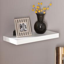 Chicago Floating Shelf 24 - White