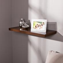 Aspen Floating Shelf 24-inch - Chocolate
