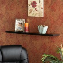 108-360 Aspen Floating Shelf 36 Black