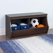 Fremont Stackable 2-Bin Storage Cubby