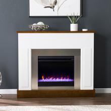 Eastrington Color Changing Electric Fireplace