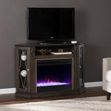 Austindale Color Changing Fireplace w/ Media Storage