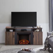 Livingvale Electric Fireplace Media Console