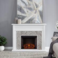 Hebbington Tiled Marble Fireplace