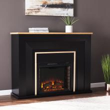 Cardington Industrial Electric Fireplace