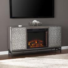 Hollesborne Electric Fireplace w/ Media Storage
