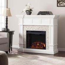 Merrimack Corner Convertible Electric Fireplace