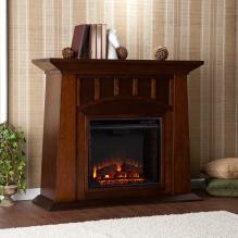 Lowery Electric Fireplace - Espresso