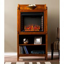 Moreno Fireplace Tower - Mission Oak