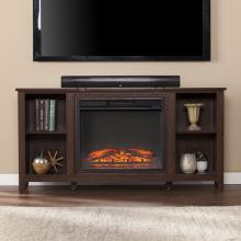 Parkdale Electric Fireplace TV Stand - Espresso