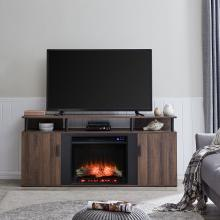 Livingvale Electric Fireplace Media Console