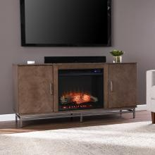 Dibbonly Electric Fireplace w/ Media Storage