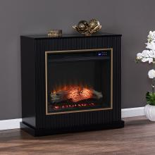 Crittenly Contemporary Electric Fireplace