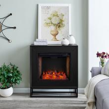 Frescan Alexa-Enabled Smart Fireplace