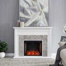 Hebbington Tiled Fireplace w/ Smart Firebox