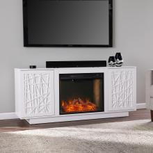 Delgrave Alexa Smart Fireplace w/ Media Storage