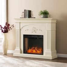 Sicilian Smart Electric Fireplace