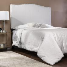 Berrymire Upholstered Headboard w/ Stud Accents