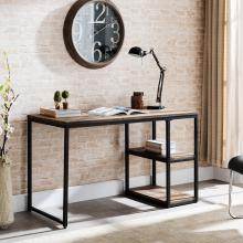 Garviston Reclaimed Wood Writing Desk - Industrial Style