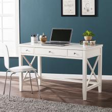 Larksmill Writing Desk - Modern Farmhouse Style - White