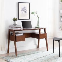 Clyden Midcentury Modern Writing Desk w/ Storage
