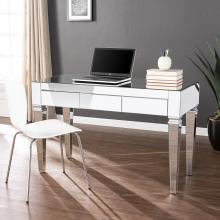 Darien Mirrored Desk - Glam - Silver