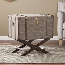 DEVANE LINEN TRUNK FILE STORAGE