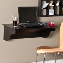 Barrie Wall Mount Desk LEDge - Black