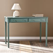 Janice 2-Drawer Writing Desk - Agate Green