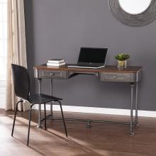 Edison Industrial 2-Drawer Desk
