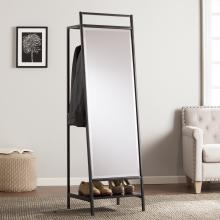 Drake Mirror/Hidden Coat Rack