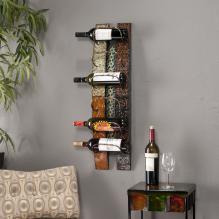 Adriano Wall-Mount Wine Storage