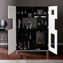 Shadowbox Wine/Bar Cabinet