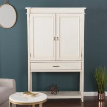 Peterson Fold-Out Bar Cabinet - Transitional Style
