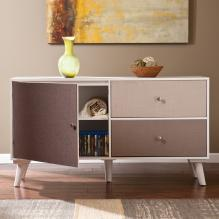 Colorblock Anywhere Storage Cabinet/Console - Linen