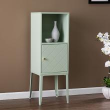 Herzo Tall Storage Cabinet - Mint