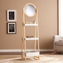 Lynnhaven Storage Shelf W/ Mirror