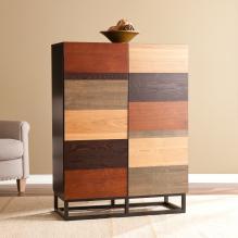 Harvey Bar Cabinet - Multi-Tonal