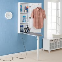 WALL-MOUNT IRONING CENTER