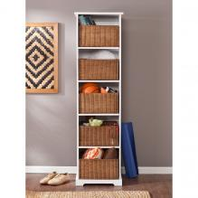 Loring Entryway Storage Cubby - White