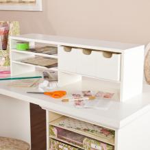 Anna Griffin Craft Room Desktop Organizer