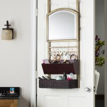 Cantera Over-the-Door Organizer/ Mirror
