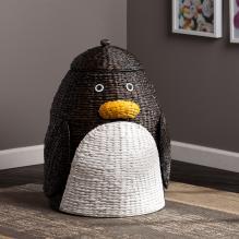 Penguin Laundry Hamper
