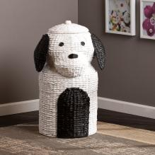 Puppy Laundry Hamper