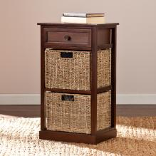 Kenton 2-Basket Storage Shelf
